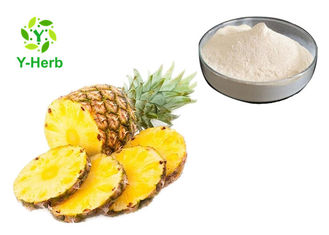 Pineapple Stem Bromelain Enzyme Powder Supplement Cosmetic Grade Ananas Comosus Extract